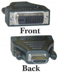 Image of DVI-D Female to HDMI Female Adapter