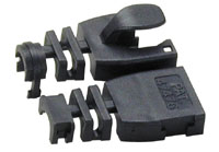 Image of BLACK RJ45 Post-Assembly Cable Boot-10pk