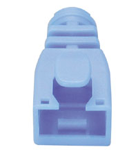 Image of BLUE RJ45 Post-Assembly Cable Boot-10pk