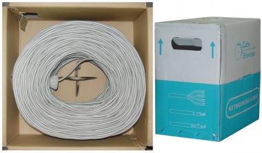 Image of CAT6 GRAY UTP Stranded PVC-1000 ft.