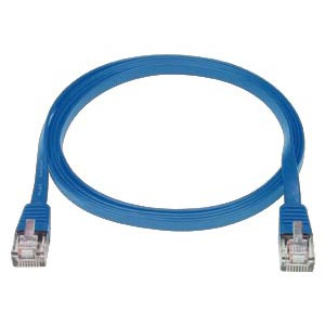 Image of 5 ft. BLUE CAT5E SuperFlat Cable