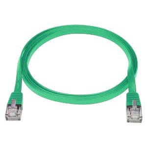 7 ft. GREEN CAT5E SuperFlat Cable