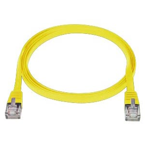 3  ft. YELLOW CAT5E SuperFlat Cable