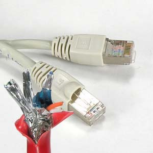Image of 200 ft. GRAY - CAT6 Shielded Patch Cable