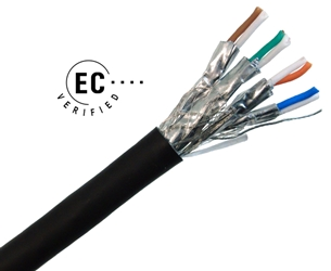 CAT7 Indoor/Outdoor Shielded Solid Cable