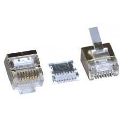 Image of CAT7 Shielded RJ45 Plug - for CAT7 Flat
