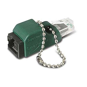 Image of Ethernet Crossover Adapter, w/key chain