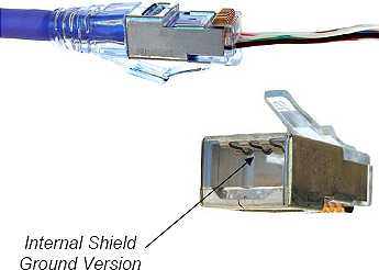 Image of CAT6 EZ-RJ45 Modular Plug-SHIELDED