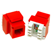 Image of RED CAT3 RJ12 (6C) Keystone Jack