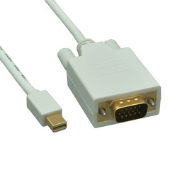 Image of 3 ft. Mini DisplayPort to VGA Cable