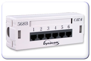 6 port cat6 zone wiring box 568a b only 45 00 rh computercableinc com Telephone Wiring Junction Box Network Wiring Box