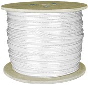 "Image of 1000ft CAT5E UTP 0.125"" Flat Cable-WHITE"