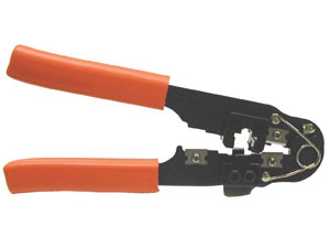RJ45 Crimp Tool for CAT5E SuperFlat Cab