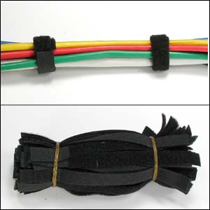 "9"" x 1/2"" Velcro Cable Strap-50 Pack"