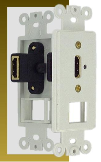 1-port HDMI + Keystone Jack